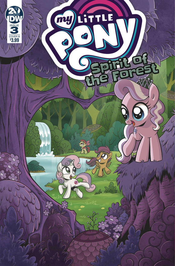 My Little Pony Spirit of the Forest (2019) #3 (CVR A HICKEY)