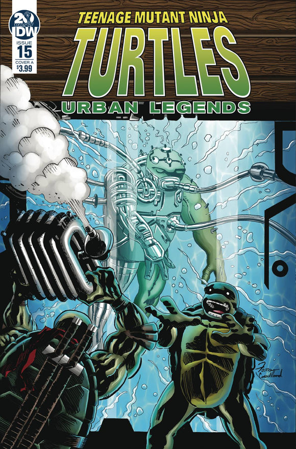 Teenage Mutant Ninja Turtles Urban Legends (2018) #15 (CVR A FOSCO)