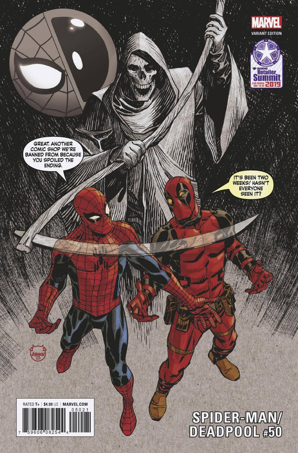 Spider-Man Deadpool (2016) #50 (Retailer Summit 2019 Johnson Variant)