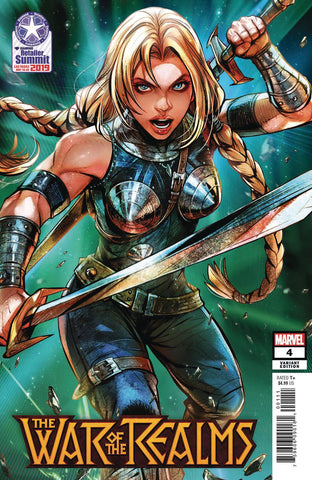 War of the Realms (2019) #4 (Retailer Summit 2019 Maxx Lim Variant)