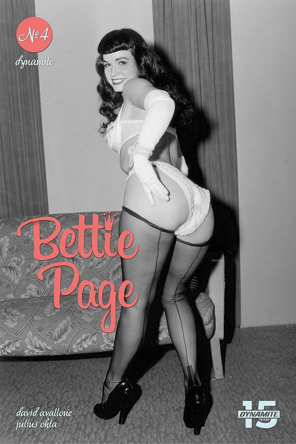 Bettie Page Unbound (2019) #4 (CVR E PHOTO)