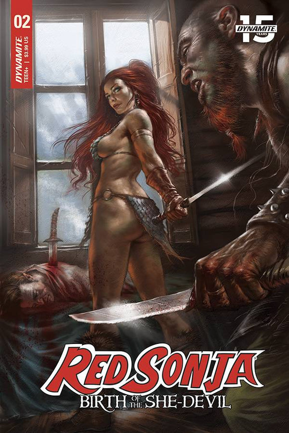 Red Sonja Birth of She-Devil (2019) #2 (CVR A PARRILLO)