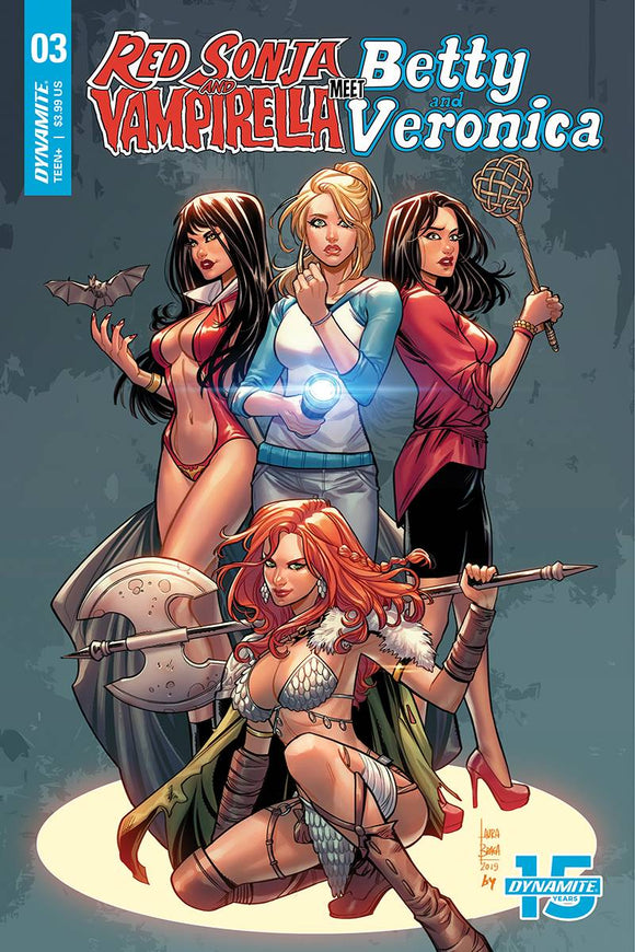 Red Sonja & Vampirella Betty & Veronica (2019) #3 (CVR C BRAGA)