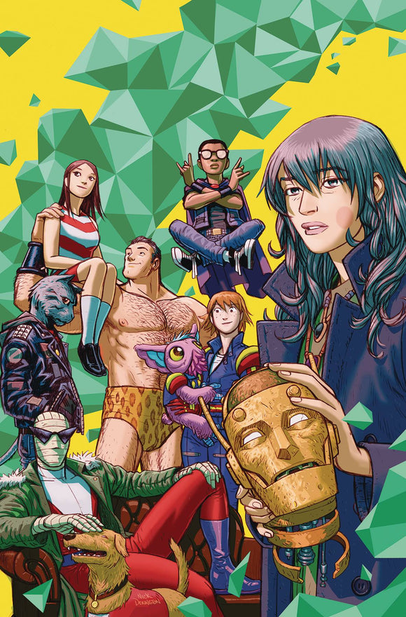 Doom Patrol The Weight of the Worlds (2019) #1