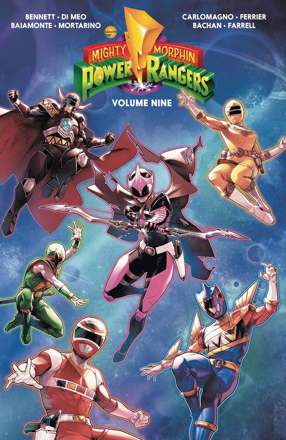Mighty Morphin Power Rangers TP Volume 9
