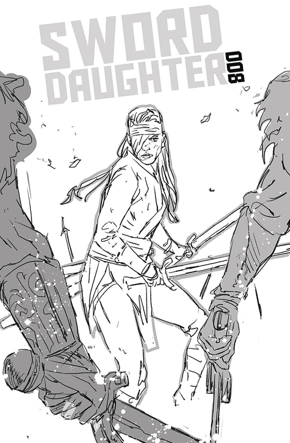 Sword Daughter (2018) #8 (CVR B CHATER VAR)