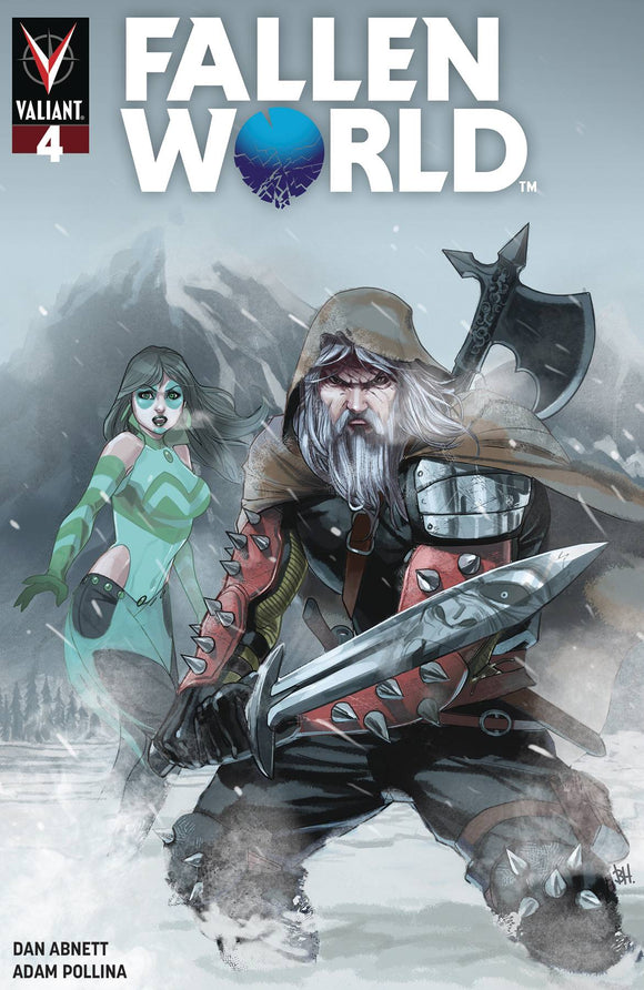 Fallen World (2019) #4 (CVR C HARVEY)