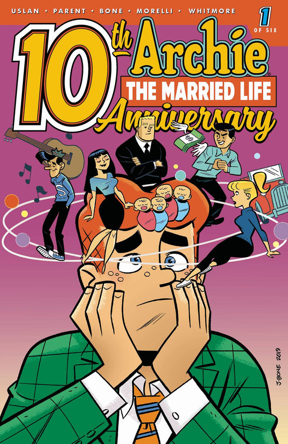 Archie Married Life 10 Years Later (2019) #1 (CVR B BONE)