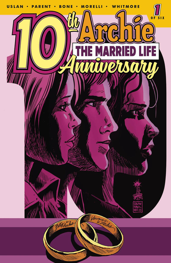 Archie Married Life 10 Years Later (2019) #1 (CVR C FRANCAVILLA)