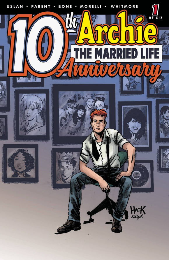 Archie Married Life 10 Years Later (2019) #1 (CVR D HACK)
