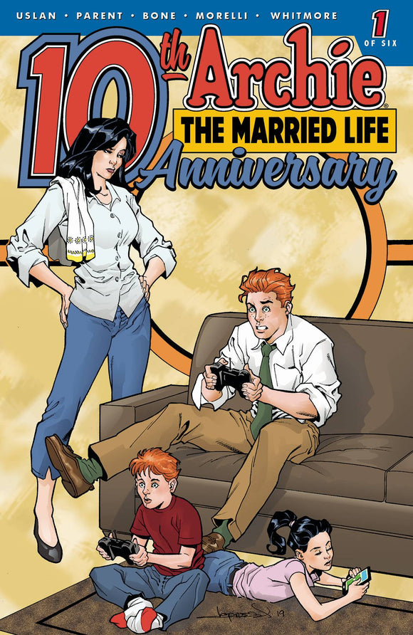 Archie Married Life 10 Years Later (2019) #1 (CVR E LOPRESTI)