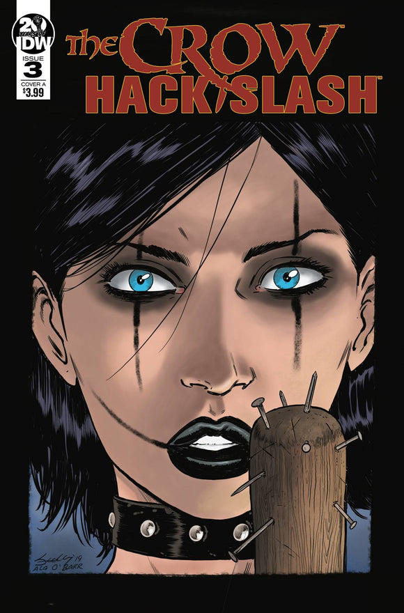 Crow Hack Slash (2019) #3 (CVR A SEELEY)
