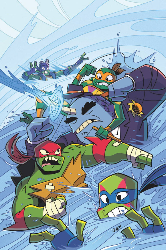 TMNT Rise of TMNT Sound Off (2019) #2 (CVR A THOMAS)