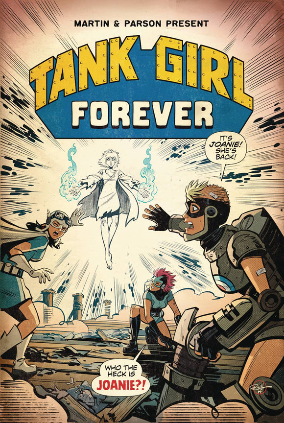 Tank Girl Action Alley (2018) #6 (CVR A PARSON)
