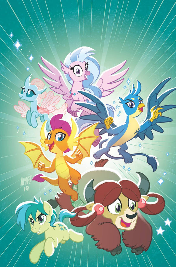 My Little Pony Feats of Friendship (2019) #1 (CVR A FLEECS)