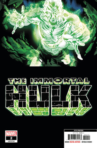 Immortal Hulk (2018) #2 (5th Print Bennett Variant)