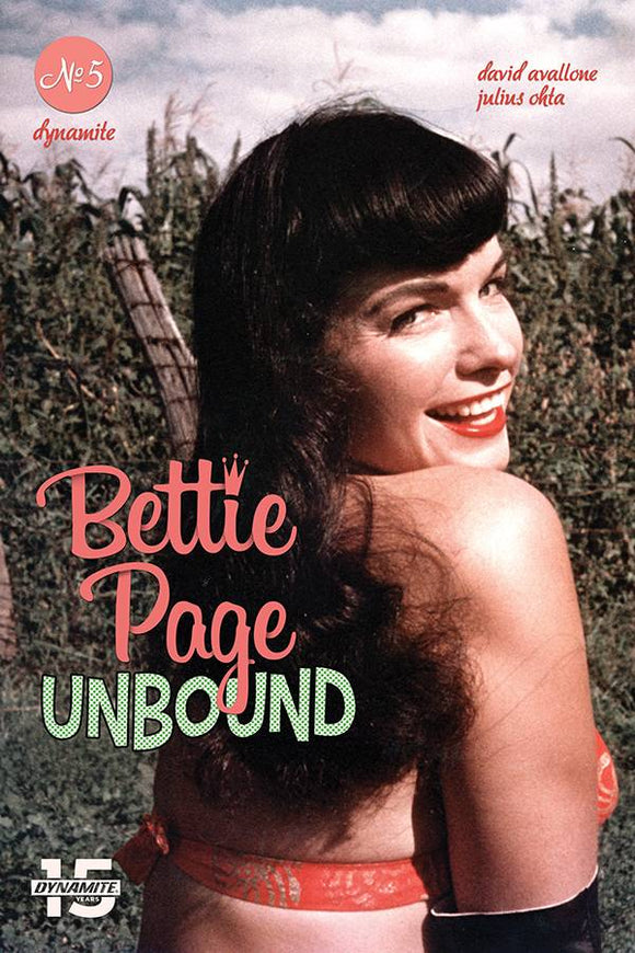 Bettie Page Unbound (2019) #5 (CVR E PHOTO)
