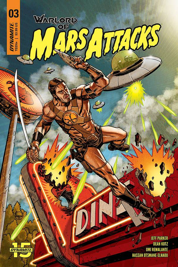 Warlord of Mars Attacks (2019) #3 (CVR A JOHNSON)