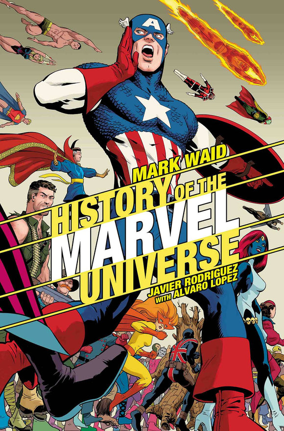 History of the Marvel Universe (2019) #2 (RODRIGUEZ VAR)