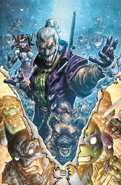 BATMAN TEENAGE MUTANT NINJA TURTLES III (2019) #4 (OF 6)