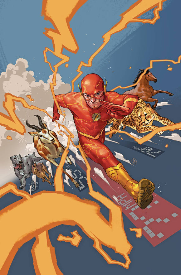 Flash (2016) #77 (CARD STOCK VAR ED YOTV DARK GIFTS)