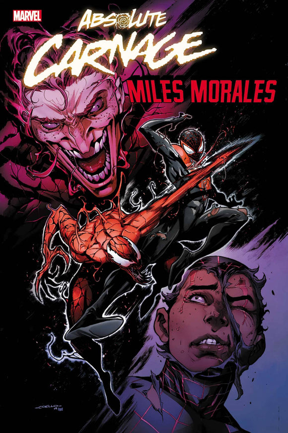 Absolute Carnage Miles Morales (2019) #1 (1:50 COELLO VAR AC)