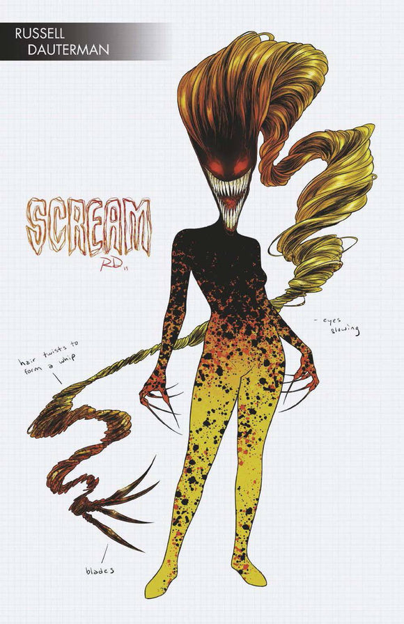Absolute Carnage Scream (2019) #1 (DAUTERMAN YOUNG GUNS VAR AC)