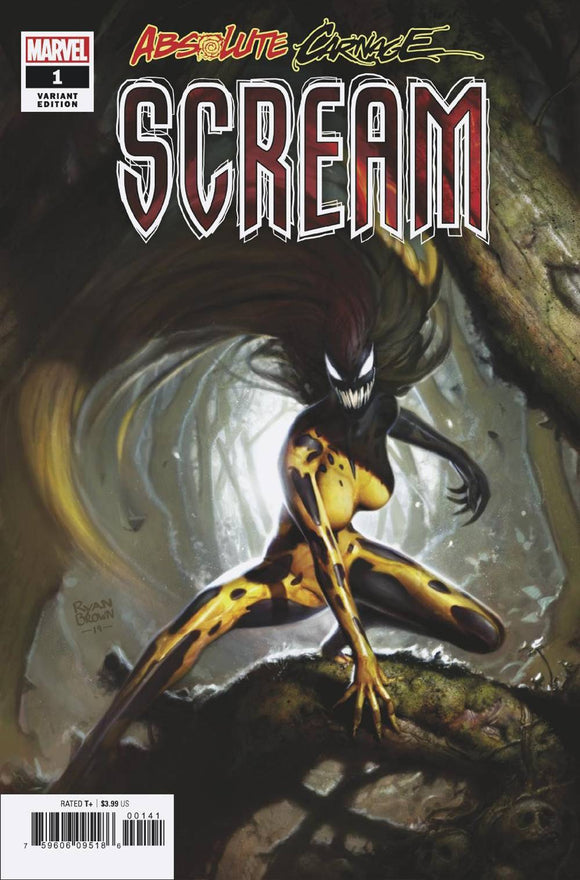 Absolute Carnage Scream (2019) #1 (1:50 BROWN VAR)