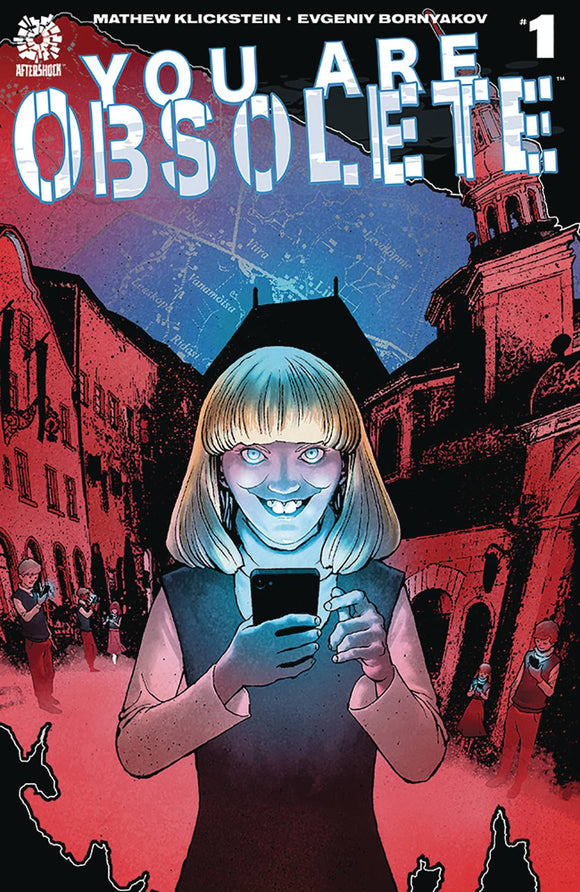 You Are Obsolete (2019) #1 (CVR A CLARKE)