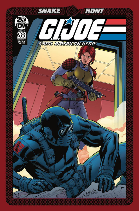 GI Joe: A Real American Hero (2010) #268 (CVR A ATKINS)
