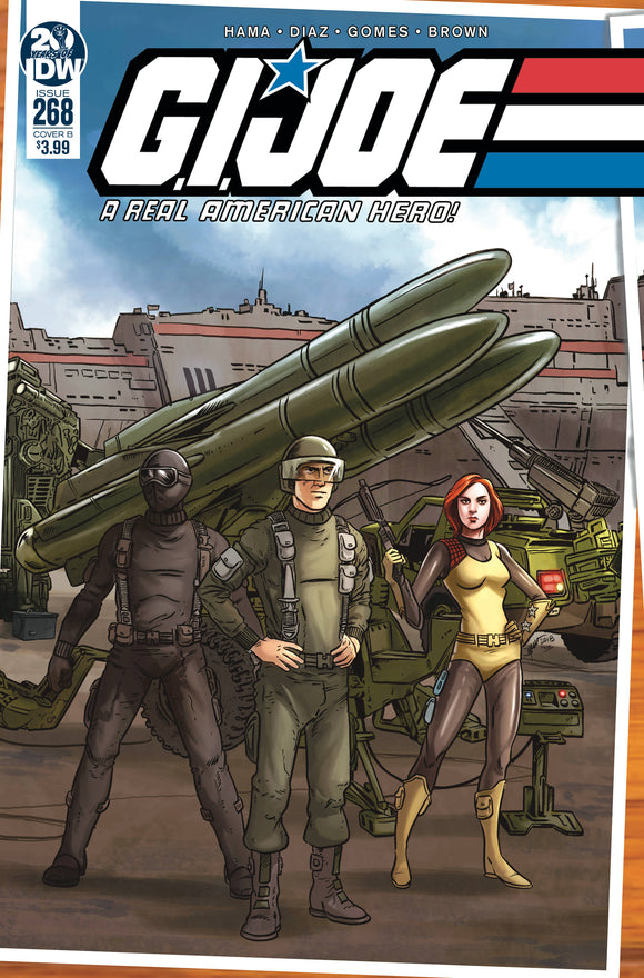 GI Joe: A Real American Hero (2010) #268 (CVR B SULLIVAN)