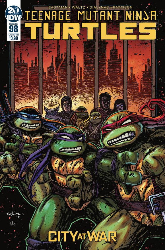 Teenage Mutant Ninja Turtles (2011) #98 (CVR B EASTMAN)