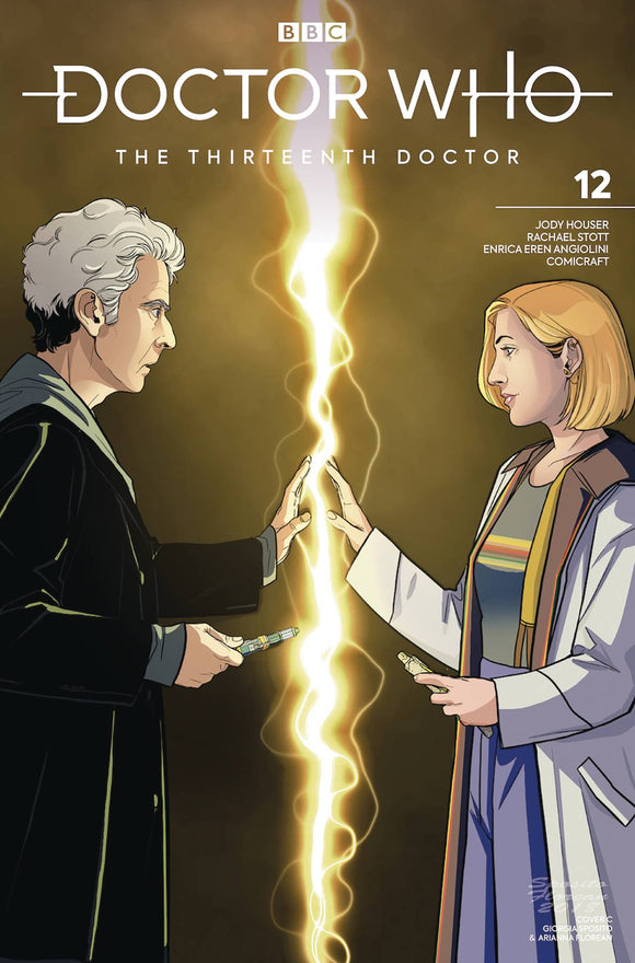 Doctor Who 13th (2018) #12 (CVR C 12TH DOCTOR)