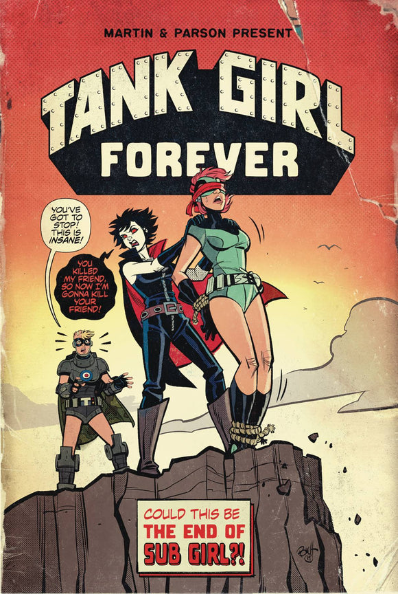 Tank Girl Action Alley (2018) #7 (CVR A PARSON)