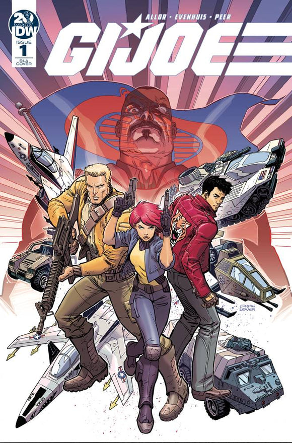 GI Joe (2019) #1 (10 COPY INCV WEAVER)
