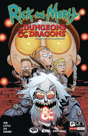 Rick & Morty Vs D&D II Painscape (2019) #1 (CVR A ITO)