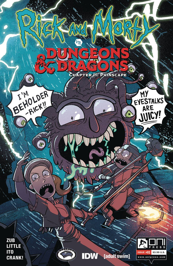 Rick & Morty Vs D&D II Painscape (2019) #1 (CVR B ZUB)
