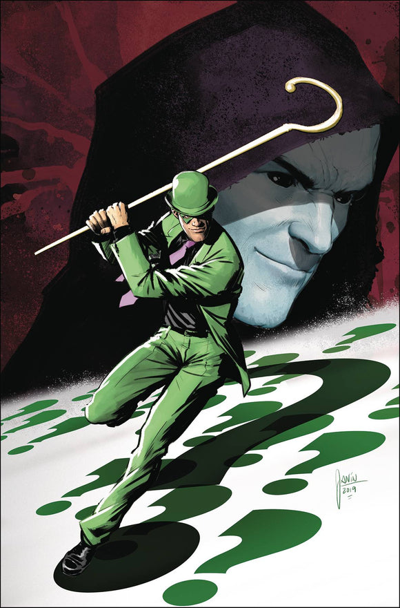 RIDDLER YEAR OF THE VILLAIN #1