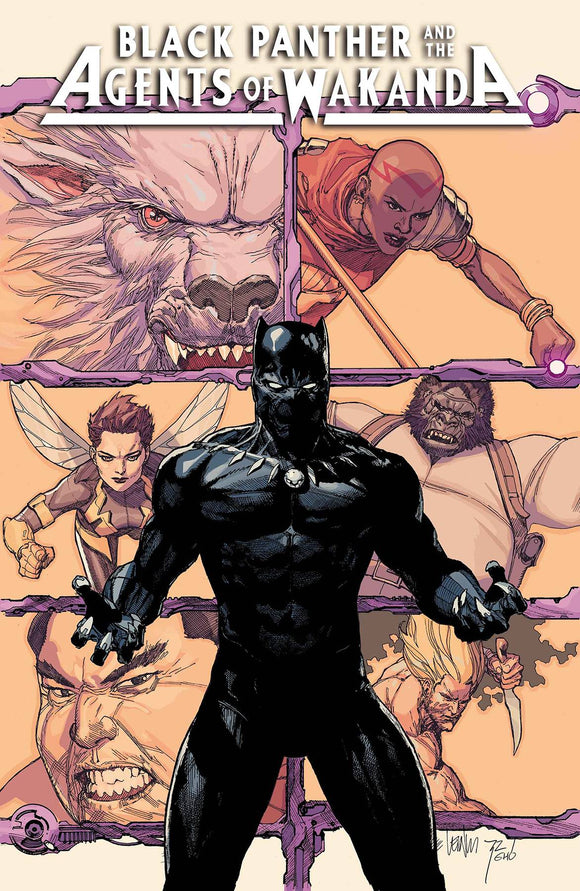 Black Panther and the Agents of Wakanda (2019) #1 (YU VAR)