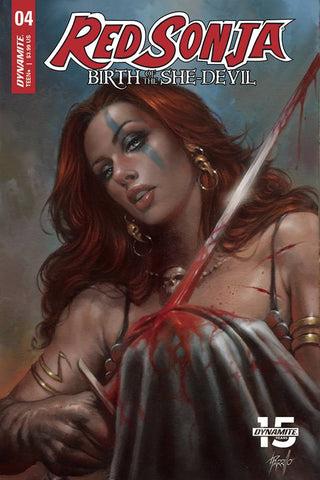 Red Sonja Birth of She-Devil (2019) #4 (CVR A PARRILLO)