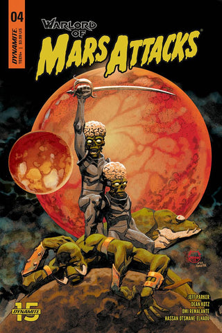 Warlord of Mars Attacks (2019) #4 (CVR A JOHNSON)
