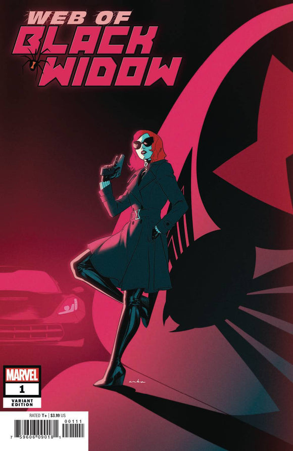 Web of Black Widow (2019) #1 (ANKA VAR)