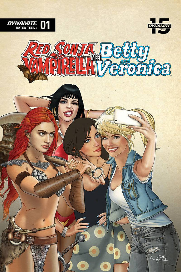 Red Sonja & Vampirella Betty & Veronica (2019) #1 (SELFIE LTD CVR)