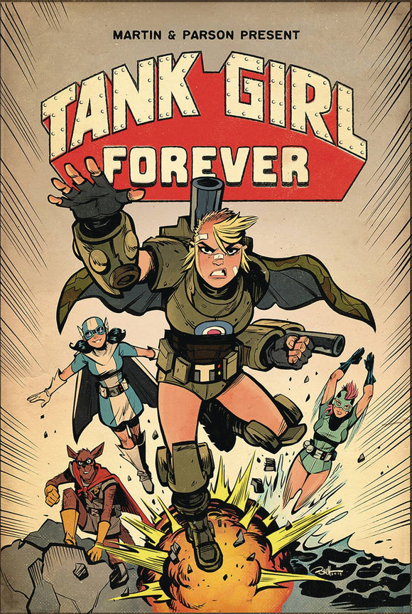 Tank Girl Action Alley (2018) #8 (CVR A PARSON)