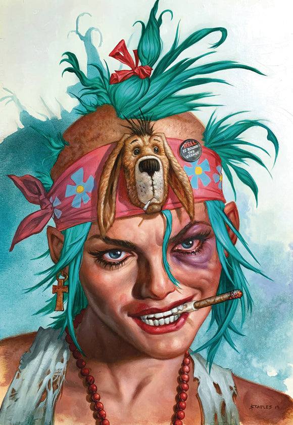 Tank Girl Action Alley (2018) #8 (CVR B  VIRGIN STAPLES)