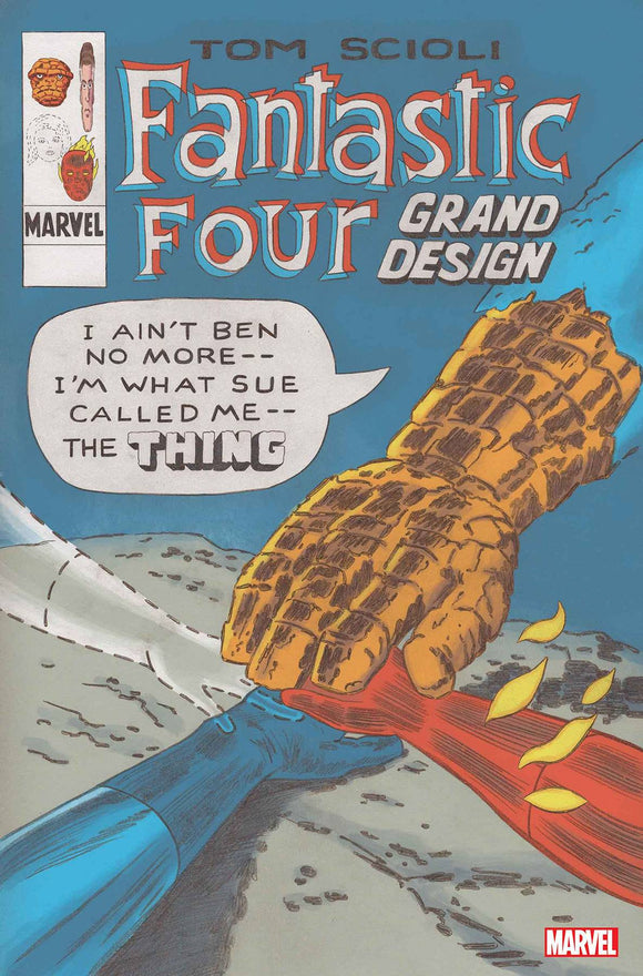 Fantastic Four Grand Design (2019) #1