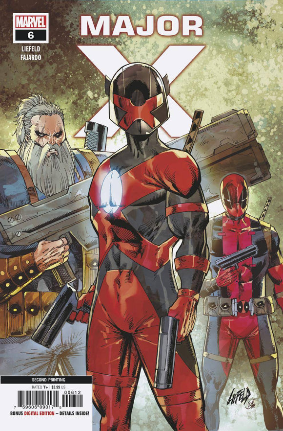 Major X (2019) #6 (2nd Print Liefeld Variant)
