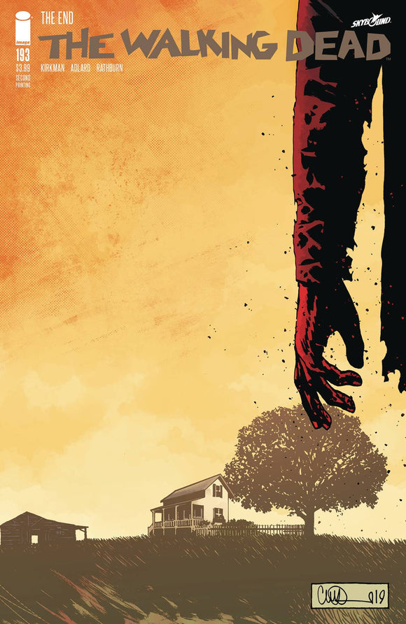 Walking Dead (2003) #193 (2nd Print)