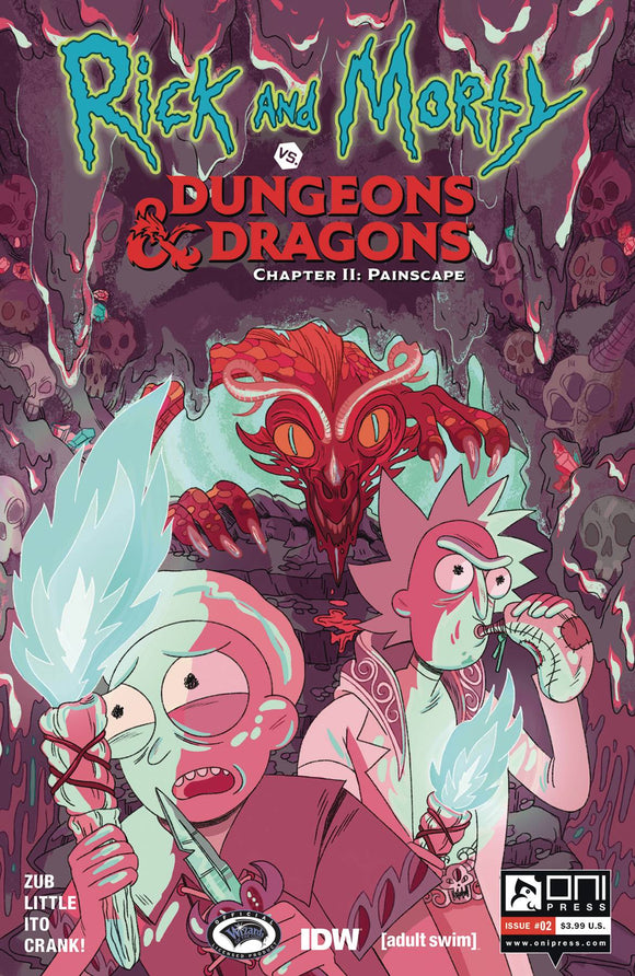 Rick & Morty Vs D&D II Painscape (2019) #2 (CVR B GOUX)