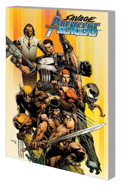SAVAGE AVENGERS TP VOL 01 CITY OF SICKELS